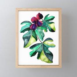 FIG BRANCH Framed Mini Art Print