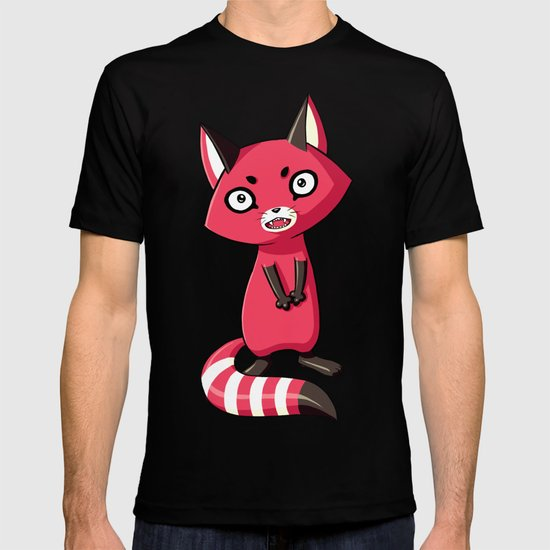 Shy Raccoon T-shirt