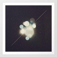 Many Moons (Between Us) Art Print