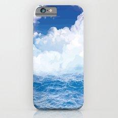 Wolken über dem Meer Slim Case iPhone 6s