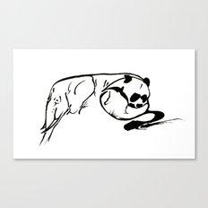 pandaphant Canvas Print