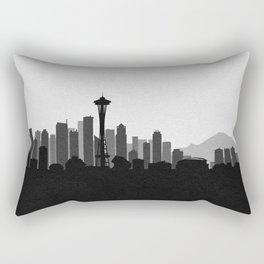 City Skylines: Seattle (Alternative) Rectangular Pillow
