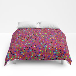 Colorful Rain 13 Comforters