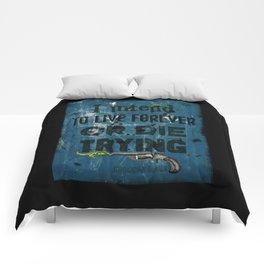 Die Trying Comforters