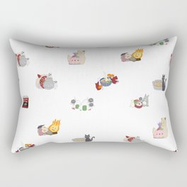Ghibli x Food Rectangular Pillow