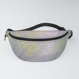 Bold Watercolor Words 2 Fanny Pack