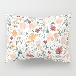 Deep Florals Pillow Sham
