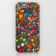 colorful dots iPhone 6s Slim Case