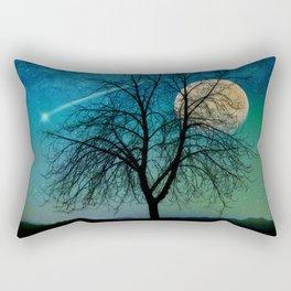 Solitude Harvest Moon Rectangular Pillow