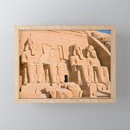 Great Temple of Abu Simbel Framed Mini Art Print