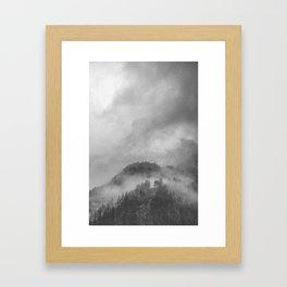 Moody clouds 5 Framed Art Print