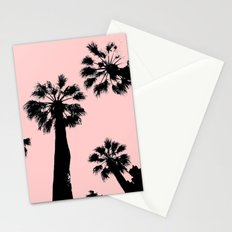 Pink Palms Stationery Cards