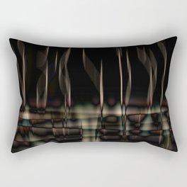 night reflections Rectangular Pillow