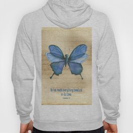 Everything Beautiful Butterfly Hoody