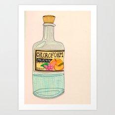 Chloroform Phoenix Art Print