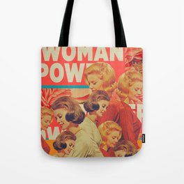 Woman Power Tote Bag