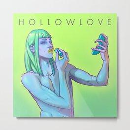 Hollowlove Shapeshifting Metal Print