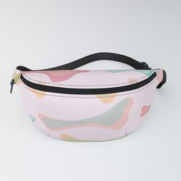 abstract bone Fanny Pack