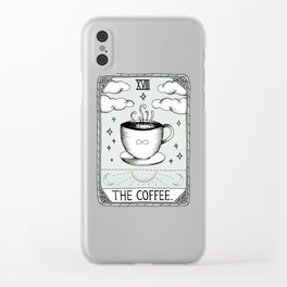 The Coffee Clear iPhone Case