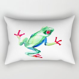 Tree Frog Rectangular Pillow