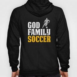 Funny Soccer Design For Boys God Family Soccerpsd Hoody