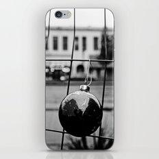 Urban Christmas bulb iPhone & iPod Skin