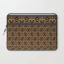 ArtDéco gold Laptop Sleeve