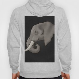 Elephant Ivory Hoody