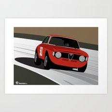 Magnificent Giulia Art Print