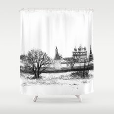 Iossio-Volotzky monastery SK0138 Shower Curtain