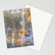 onix mineral Stationery Cards