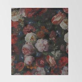 Vintage & Shabby Chic - Dutch Midnight Garden Throw Blanket