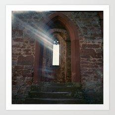 Limburg with Light Leak Art Print