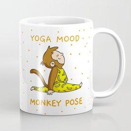Yoga Mood - Monkey pose Coffee Mug