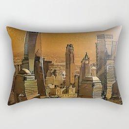 New York Dawn Rectangular Pillow