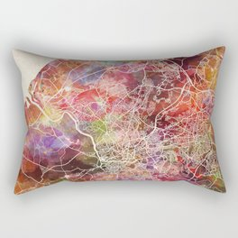 Bristol map Rectangular Pillow