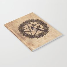 Botanical Pentacle: Wild Witch Notebook