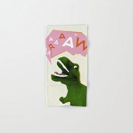 Dinosaur Raw! Hand & Bath Towel