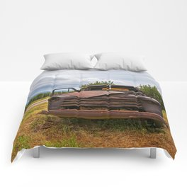 Old Chevy Truck Comforters