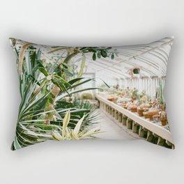 Botanical Garden Tropical Rectangular Pillow
