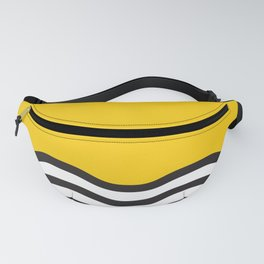 Waves of Yellow Fanny Pack