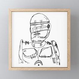 Es Robocop Framed Mini Art Print