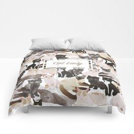 Cat lady Comforters