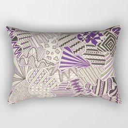 Organized Chaos - V Rectangular Pillow