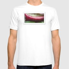 The Lip Mens Fitted Tee White MEDIUM