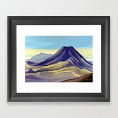 Mount Ngauruhoe Framed Art Print