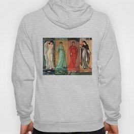 "Edward Burne-Jones ""The seasons"" Hoody"