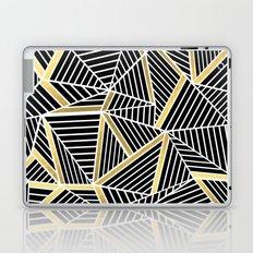 Ab Lines 2 Gold Laptop & iPad Skin