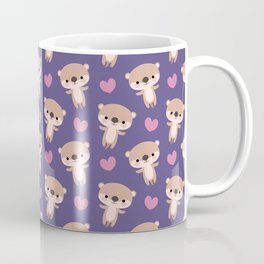 Kawaii otters Coffee Mug