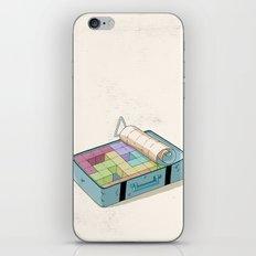 Preparing luggage iPhone & iPod Skin